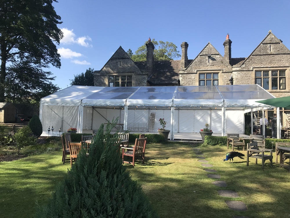 Marquee-being-erected-for-private-event