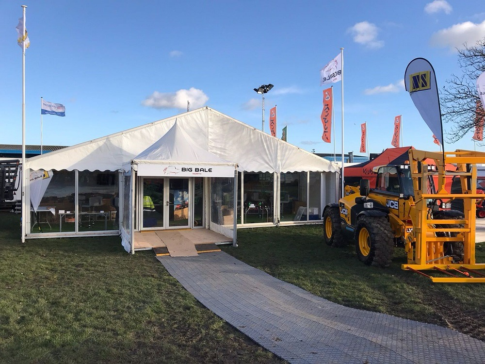 Marquee-set-up-for-agricultural-show